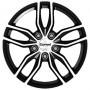 CarwelEpsilon Black Pol XC70 16X6.5J 5X108