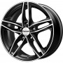 CarwelTau Black Polished Verso 16X6.5J 5X114.3